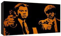 Pulp Fiction cult Film Movie Canvas Art - Choice of 8 Designs - Range of Sizes